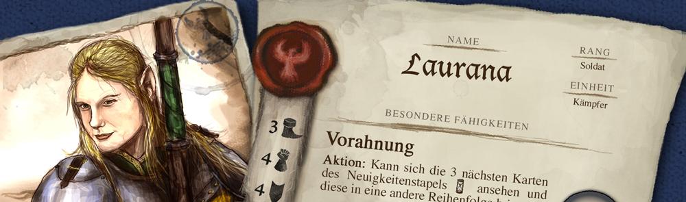 Neuer Charakter – Laurana