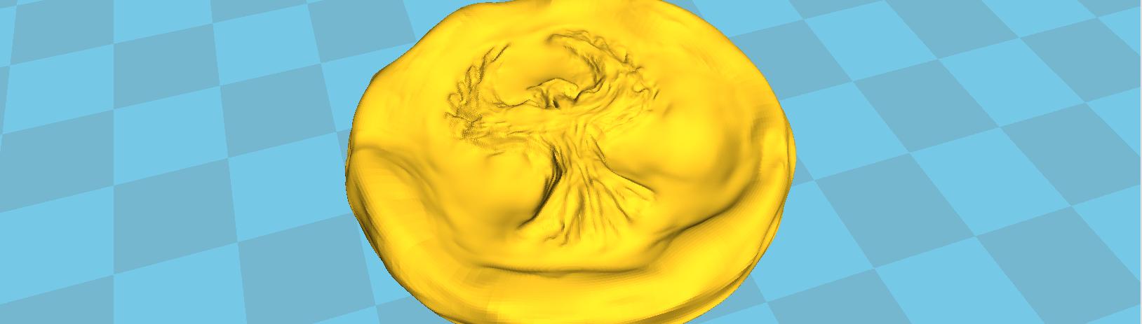 3D Experiment: Startspieler-Marker