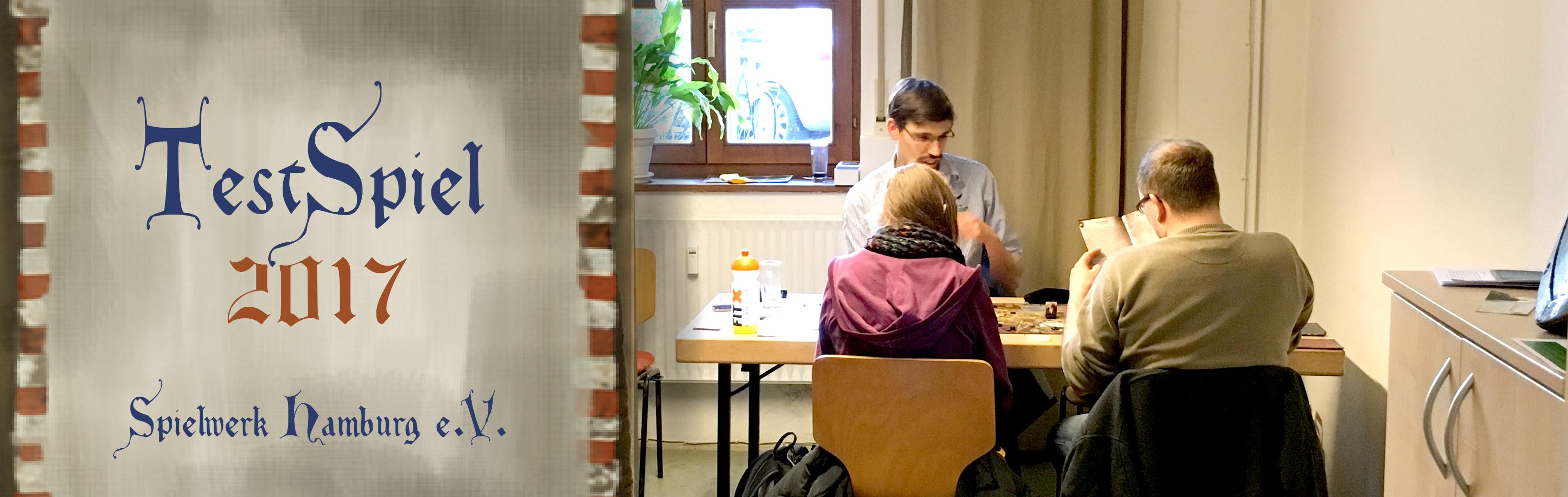 Es geht wieder weiter – TestSpiel Hamburg 2017